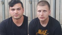 Dimitar Tsankov Hristov (L), 25, and Kolin Karasimirov Kolev, 29 shown in photos provided by Ho Chi Minh City police