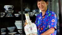 The king of antique ceramics in Saigon