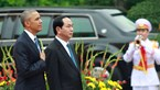 Vietnam's official welcoming ceremony for US President Obama