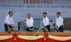Work starts on $270 mln oncology hospital in Ho Chi Minh City