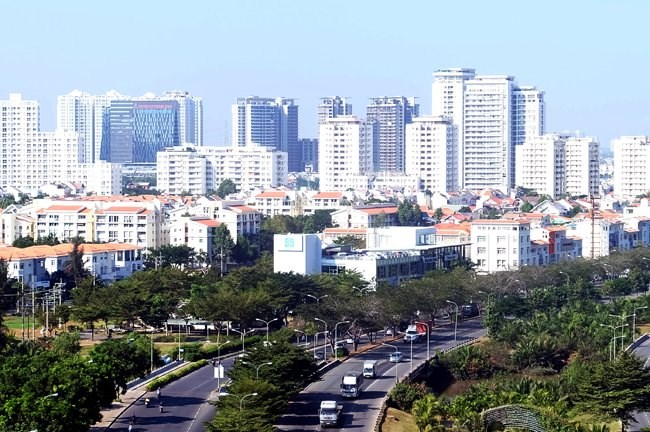 Most of the pledged investment capital were for the real estate, trading, manufacturing and processing sectors. Photo credit: Quoc Hung/Saigon Times Online