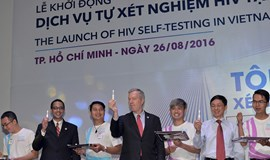 HIV self-testing launched in Vietnam
