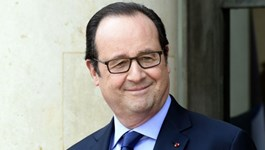 French President François Hollande pictured at the Élysée palace in Paris on July 11, 2016. Photo credit: Dominique Faget/AFP