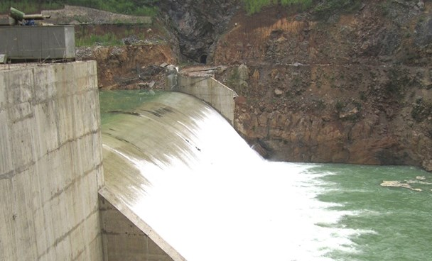 Part of a hydropower plant invested by Bitexco. Photo taken from the company's website