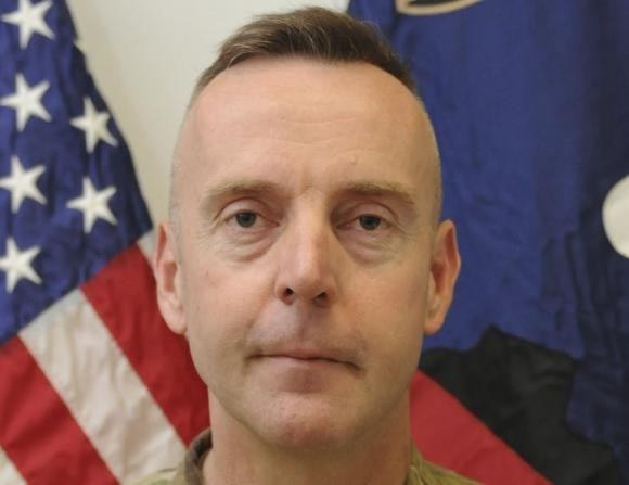 Brigadier General Jeffrey Sinclair is seen in this handout photo received September 26, 2012.