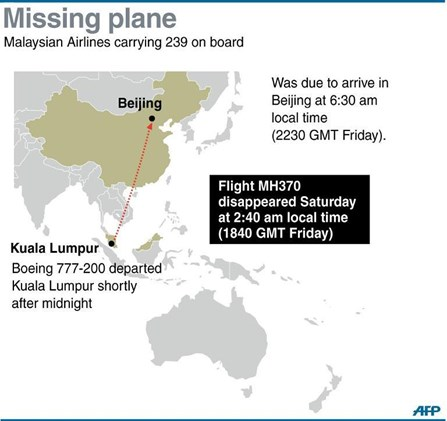 Malaysia plane could have crashed in water between Vietnam Malaysia admiral Society Thanh Nien Daily