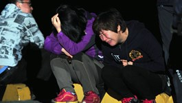 'I think I'm going to die,' student on Korean ferry told grandma