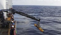 Search for plane heads to ocean floor with underwater drone
