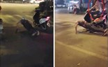 Hanoi push-up guy has his scooter stolen