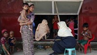 Rohingya health crisis in west Myanmar after aid groups forced out