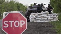 Moscow May Day parade lauds Putin as rebels seize more Ukraine buildings