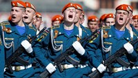 Victory Day parade on Moscow's Red Square 2014