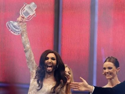 Austria's 'bearded lady' Conchita Wurst wins Eurovision Song Contest