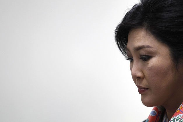 Ousted Thai Prime Minister Yingluck Shinawatra.