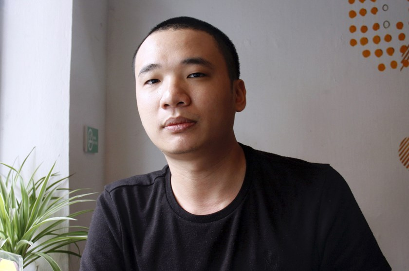 Nguyen Ha Dong, the author of the game Flappy Bird, at a coffee shop in Hanoi on Feb. 5, 2014. The Vietnamese developer behind the smash-hit free game Flappy Bird has pulled his creation from online stores after announcing that its runaway success had rui