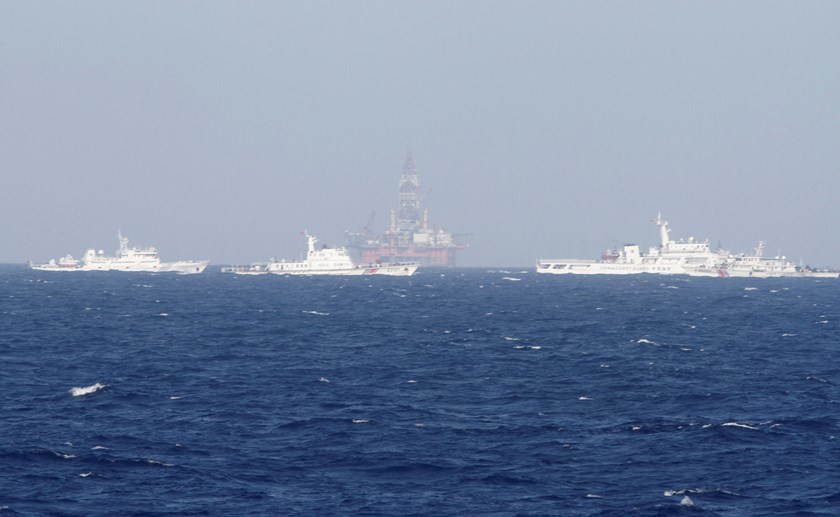 Vietnam is preparing legal action against China in a separate dispute in the South China Sea after China set up an oil rig near the Paracel Islands