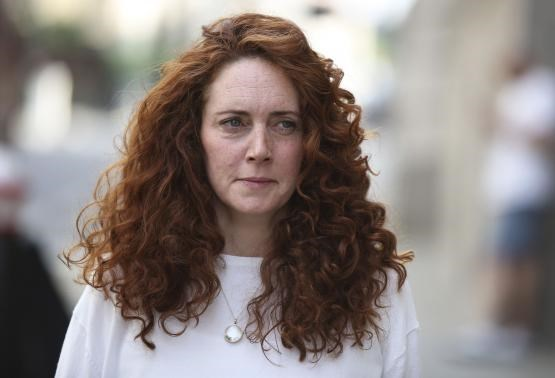 Former News International chief executive Rebekah Brooks arrives at the Old Bailey courthouse in London June 24, 2014.