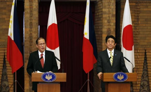 China accuses Philippines of stirring tensions after Aquino supports Japan