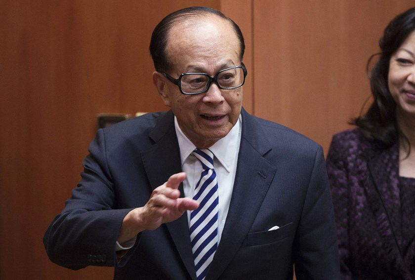 Hong Kong billionaire Li Ka-shing ranks 17th among the world's richest individuals with a net worth of $32.5 billion, according to the Bloomberg Billionaire Index.