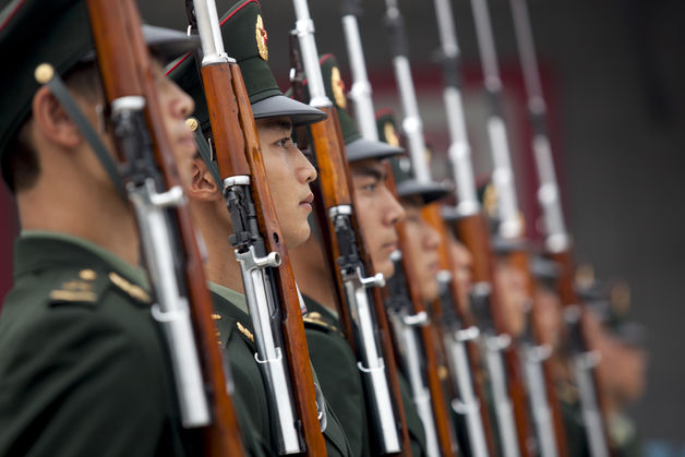 Corruption in China's military begins with buying a job