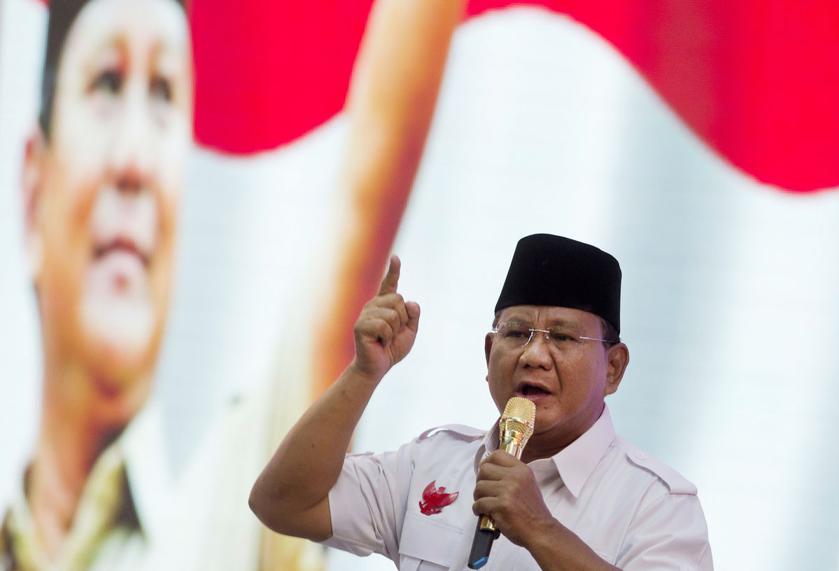 Indonesia risks Suharto dynasty rerun as son-in-law also rises