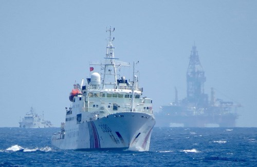 China adds more naval ships to protect oil rig