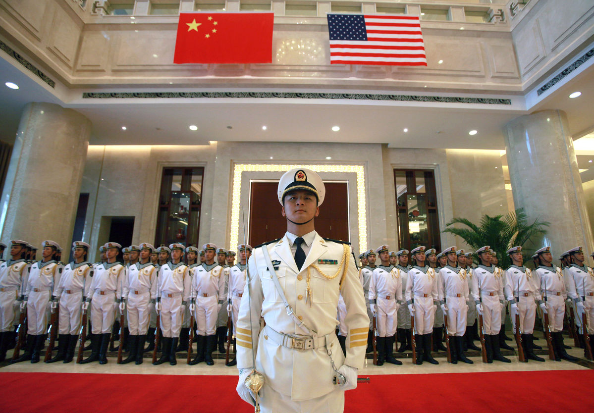 China coveting power parity joins U.S.-led naval drills