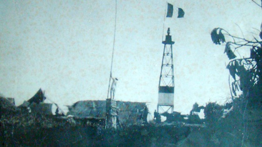 A lighthouse built by Vietnam on an island of the Paracels in 1937 in a file photo
