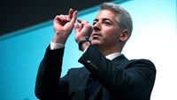 """William """"Bill"""" Ackman, founder and chief executive officer of Pershing Square Capital Management LP, in New York."""