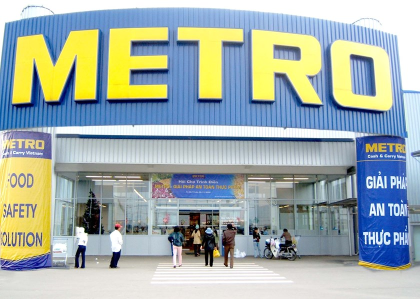 German retail giant Metro sells Vietnam hypermarkets