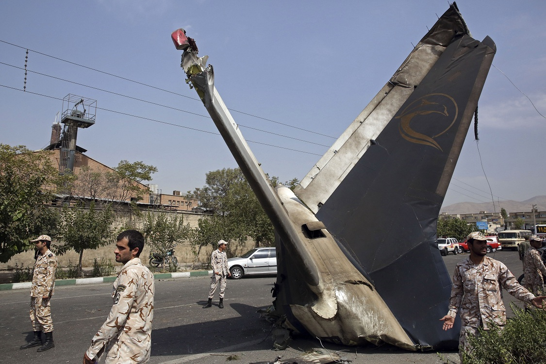 Iran's push to defy sanctions with own planes blocked by crash