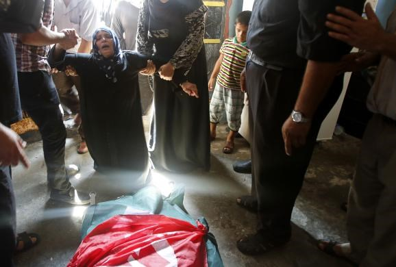 Israeli air strikes kill two Palestinians, 20 wounded