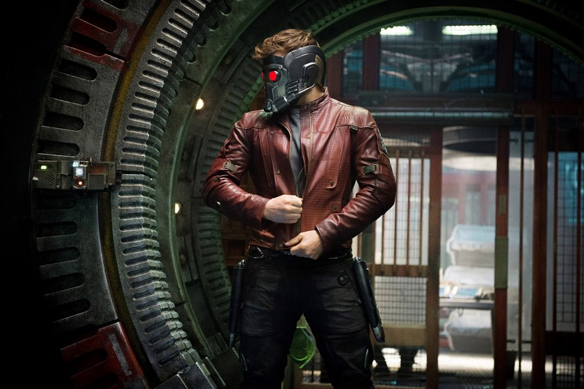"Marvel's ""Guardians of the Galaxy"" with Chris Pratt as Star-Lord."