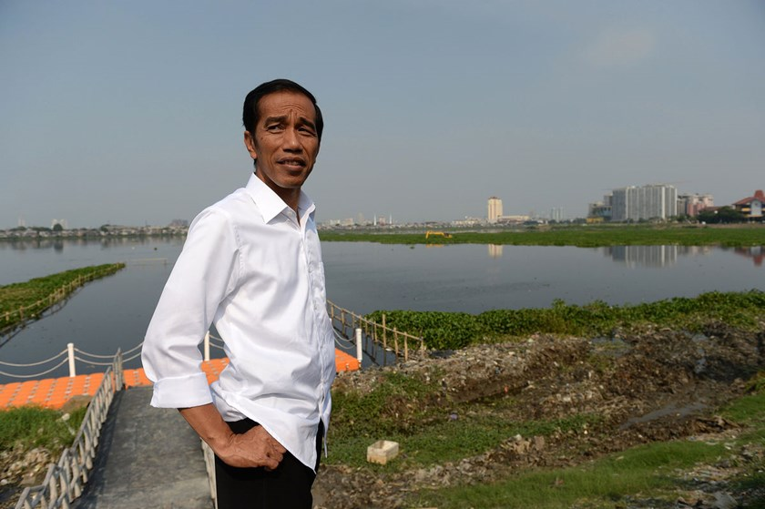 Joko Widodo, President-elect of Indonesia, takes office in October and will inherit an economy expanding at its slowest pace since 2009 and a current-account deficit that widened to a near record last quarter.