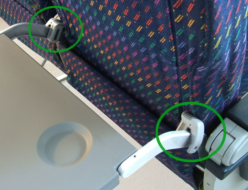 The Knee Defender prevents the passenger in front of you from reclining their seat.