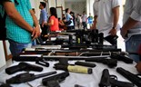 Weapons seized in Hanoi gang sweeps