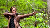 """Jennifer Lawrence in """"The Hunger Games."""""""
