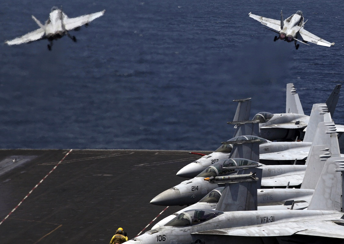 U.S. conducts first airstrikes in Syria on islamic State