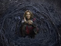 "Rumplestiltskin played by Robert Carlyle in ABC's ""Once Upon a Time"". Several Britons agreed to give up their eldest child in return for the use of free wifi, in an experiment to highlight the dangers of public Internet, published on Monday, Sept. 29, 201"