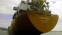 A photo of the Sunrise 689 provided by Hai Phong Sea Product Shipbuilding Co., the register owner.