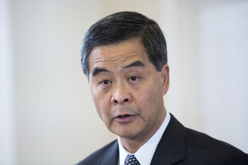 "Hong Kong's Chief Executive Leung Chun-ying said, ""We won't stop clearing protesters because we are having dialogue. We won't stop having dialogue because we are clearing the sites."""