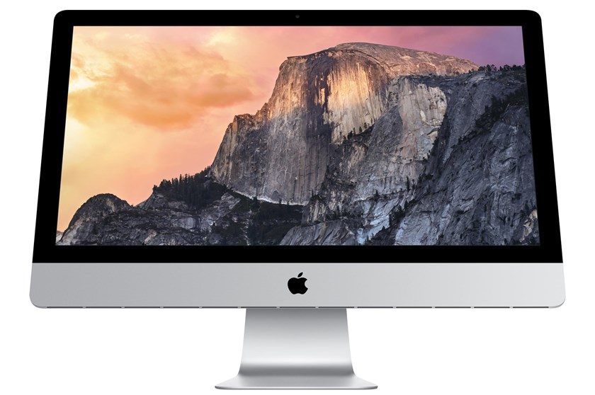 The 27-inch iMac with a 14.7 million pixel display.