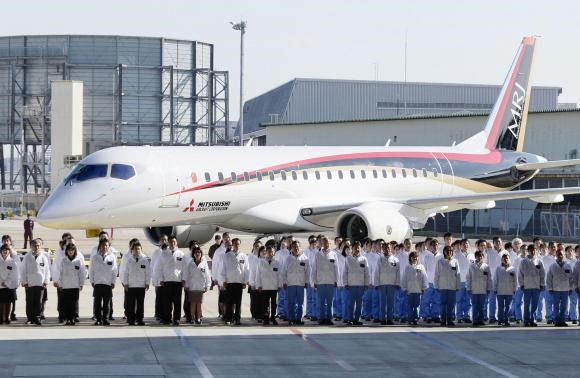 Japan rolls out 'long-held dream' with first commercial jet in 50 years