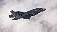 A Lockheed Martin F-35B Lightning II joint strike fighter flies toward its new home at Eglin Air Force Base, Florida in this U.S. Air Force picture taken on January 11, 2011.