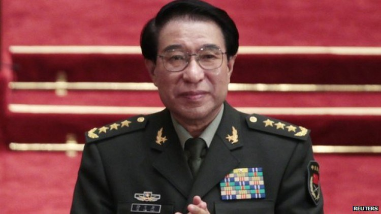 Former top China military officer admits taking 'massive' bribes