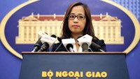 Pham Thu Hang, deputy spokesperson of Vietnam's foreign ministry