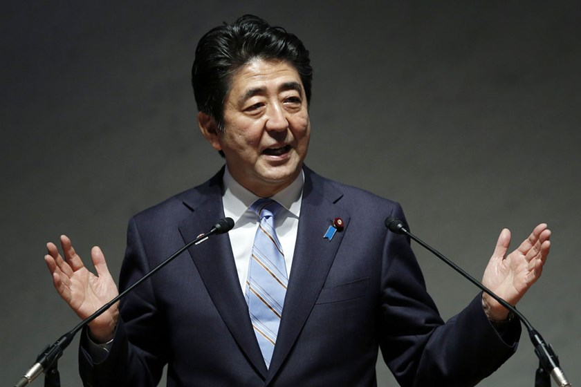 Japanese Prime Minister Shinzo Abe. Japan and China have been embroiled in a dispute over control of a group of uninhabited islands in the East China Sea known as Senkaku in Japanese and Diaoyu in Chinese.