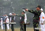Training for SE Asian armies shooting competition