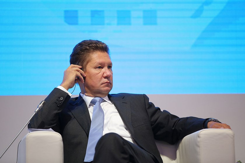 Alexey Miller, Chief Executive Officer of OAO Gazprom.