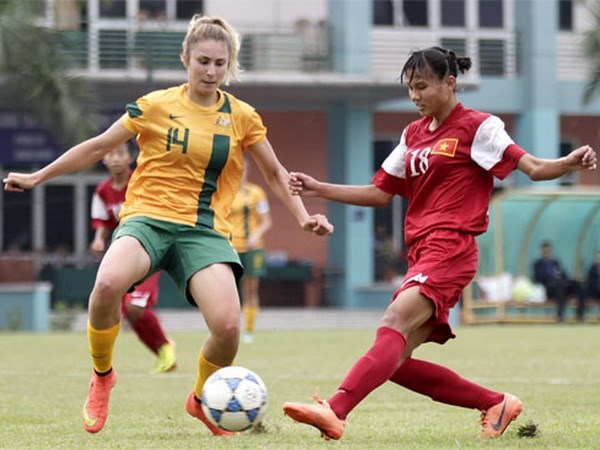 Asian U-19 women's football: Vietnam's hopes crushed after 3-0 loss to Australia